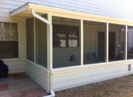 Porch Enclosure - Leander, TX