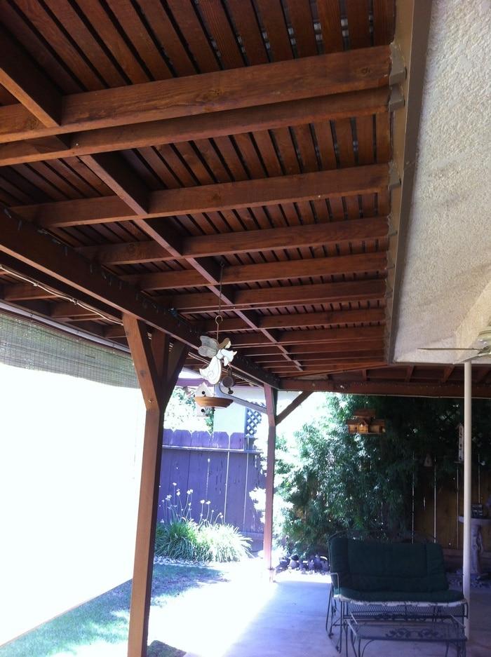 Redwood Porch Enclosure - Lago Vista, TX